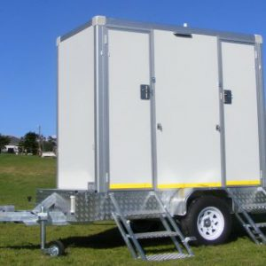 VIP Portable Toilet Double Trailer Manufacturer
